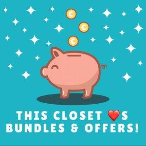 Denim - I love to offer bundle discounts!